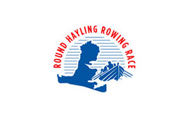 Round Hayling Rowing Race Logo