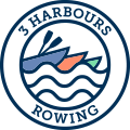 3 Harbours Rowing Logo